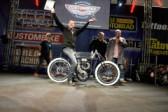 Als Gewinner auf der Custom Bike Show sammelt man fett Image-Punkte!