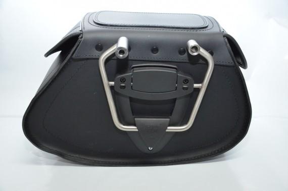 BC Bike Parts bietet u. a. ein Klick-Fix-System für Satteltaschen.