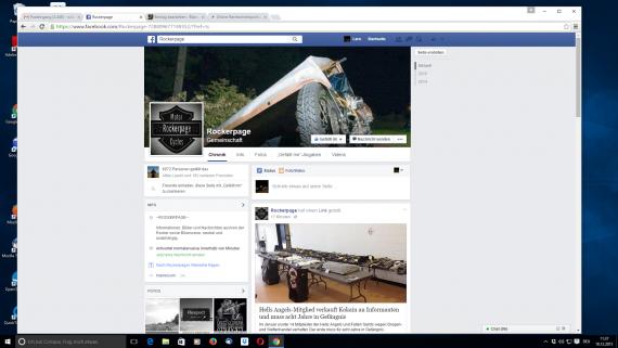 Die Rockerpage von Ecki ( Sebastian Krass ) hat die Bad News im Fokus. eigene Texte gibt es leider nicht!
