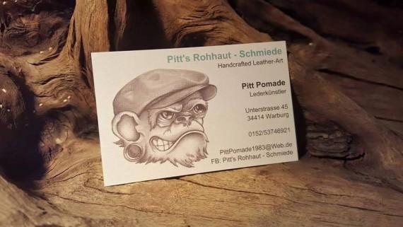 Fpr ganz eilige Fälle hier die Kontaktdaten von Pitt's Rohhaut Schmeide!