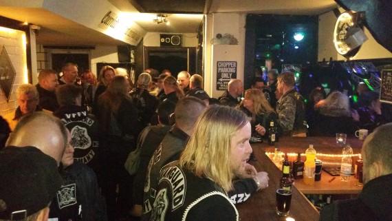 Unzählige Clubs, Freebiker und Freunde des Clubs erwiesen Maze die letzte Ehre!