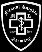 Das Colour der Mideical Knights. dieser hastte auf meinen Artikel über den EMC Biker Paramedics reagiert!