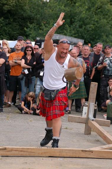 Bei den Highland-Games geht es auch modisch zu!