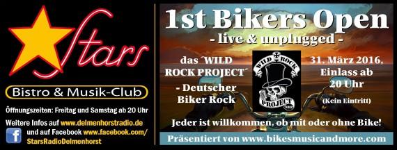 Am Weekend der Ballermann, am Donnerstag der Biker Rock. Warum denn nicht!