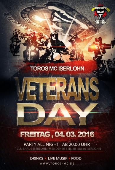 Der Toros MC Iserlohn lädt alljährlich zum Veteras-Day!