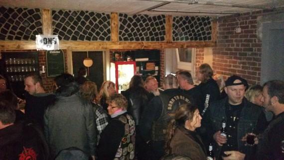 Der Wild Vikings MC Zeven konnte Freitag eine gut gefüllte Hütte für sich verbuchen.