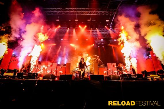 Bild- und Musikgewaltiges Spektakel. Das Reload Festival rockt!