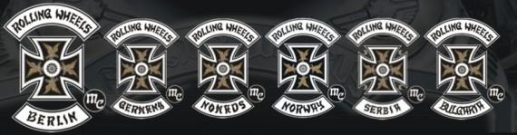 Die Familie des Rolling Wheels MC. Das Mother-Chapter ist Berlin!