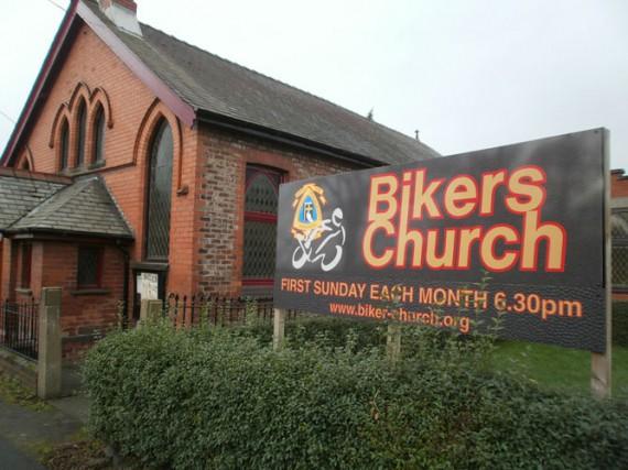 Im Mutterland der Biker sind die Gottesdienste voll etabliert.
