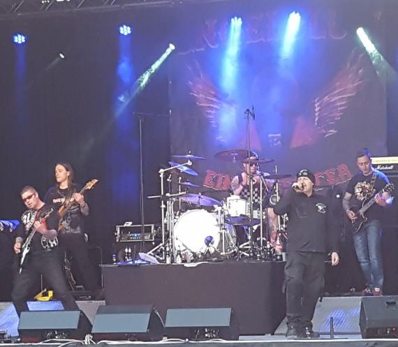 Anlässlich des Anniversarys gab die Band Engelblut HC sein zweites Konzert.