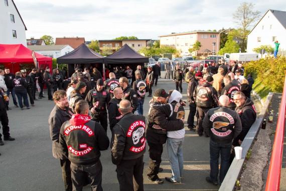 Mit der Spring Party feierte der Hells Angels MC Hof City sein 5th Anniversary.