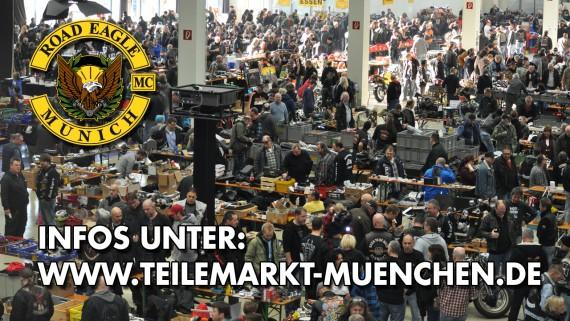 Der Biker Teilemarkt des Raod EAgles MC findet im Dezember statt
