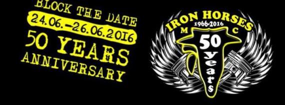 Mit dem 50th Anniversary ist der Iron Horses MC definitiv einer der ältesten Clubs in Deutschland.