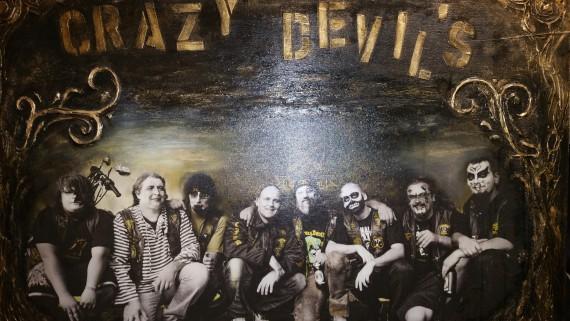 Ledier war der Besuch beim Crazy Devils MC Weilheim kürzer als geplant. Schade!