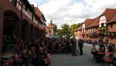 Das historische Gelände war am späteren Nachmittag rappelvoll!