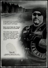 Auf seiner FB-Seite fordert Tim K. zur Verbreitung dieser Message auf.