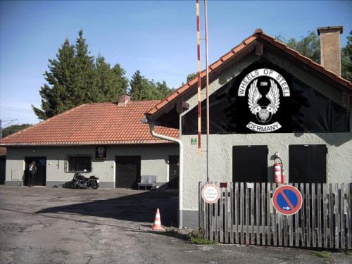 Das Clubhaus des Wheels of Steel Mc Bavarfia.