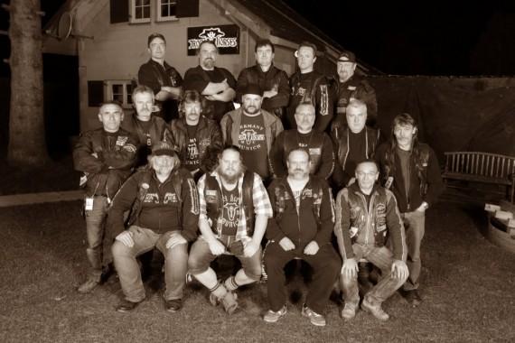 Ich bin mir sicher, dass ich den Iron Horses MC München in Kürze wiedersehe! Grins.....