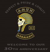 Der Amun MC hat eines der auffälligsten Colors und feiert demnächst sein 30th Anniversary.