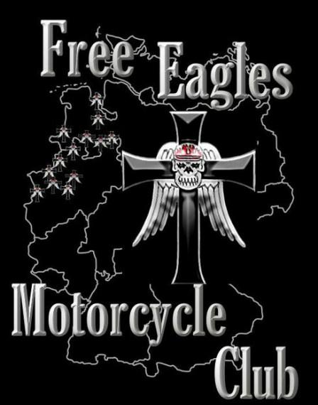 Seit 1981 gehört das Chapter Delmehorst der Famile des Free Eagles MC Germany an!