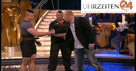 Auch Stefan Raab wurde bereits auf herbert Czeplinsky aufmerksam und lud ihn in seine Show ein!
