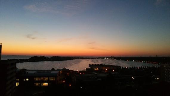 Die Sonnenuntergänge waren der Hit!