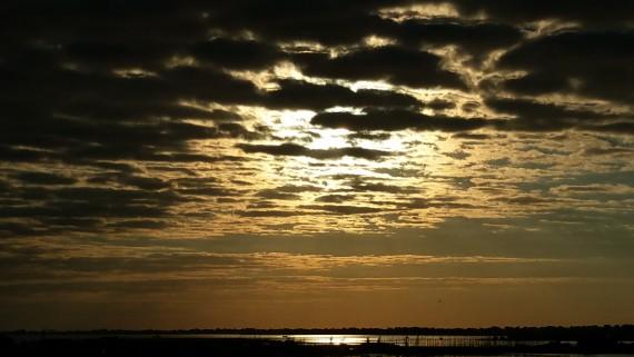 Aber auch morgens kam der Himmel geil rüber!