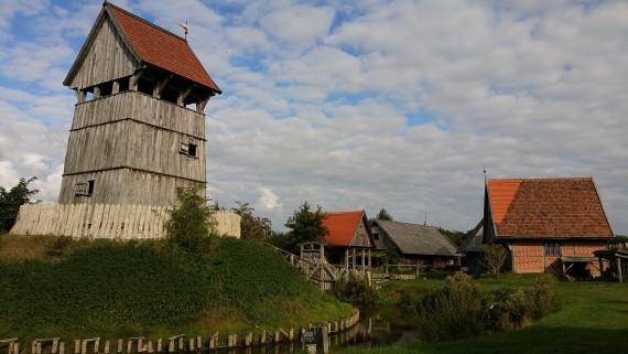 Der Besuch in der Turmhügelburg hatte sich echt gelohnt. Interessates Ding!