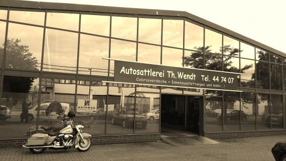 Die Autosattlerei Wendt ist in die Scipiostraße in Bremen verzogen. Ich habe Thorsten besucht und mich umgeschaut!