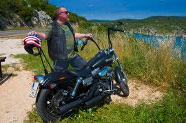 On the Road in Kroation!