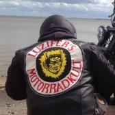 Tim ist Member im Luzifer Motorradkult aus Bremen.