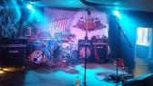 Die Bühne beim Wild Vikings MC WOB wurde mächtig gerockt.