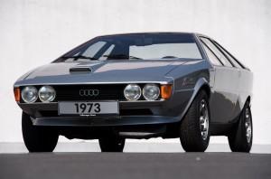 Der Pik As – die 1973 gestaltete Vision eines rassigen Audi-Sportcoupés.
