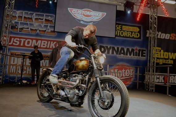 Die Custom Bike Show ist weltweit führend, so der Veranstalter.