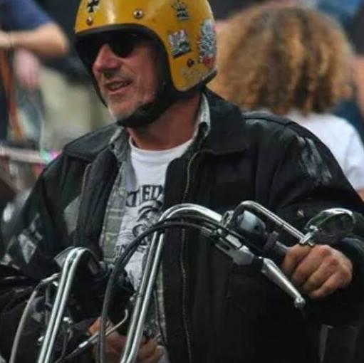 Stiebel on the Road. Er ist ein Chopper-Enthusiast!