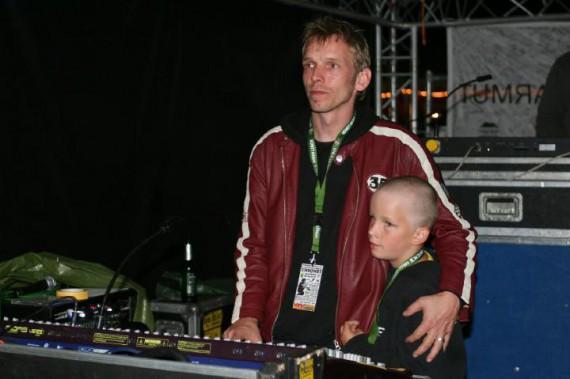 Professionelle Veranstaltungstechniker wie Robert Lienemann sorgen für den richigen Sound!