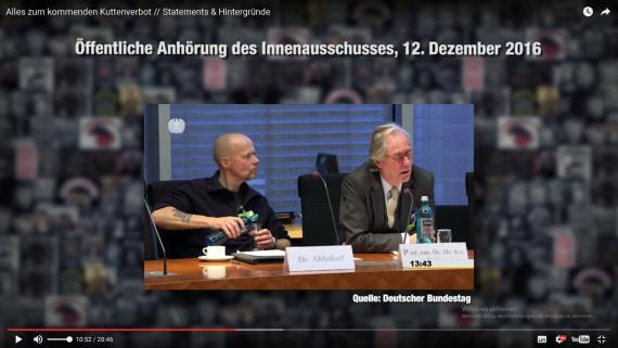 Von Prof Mattes bekamen die Befürworter ordentlich Feuer, was Dr.M.Ahsldorf sichtlich überraschte!
