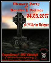 Jedes Jahr im März gedenkt der FRMC Lüdenscheid seiner verstorbenen Brüder!
