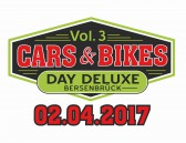 Am 02. April wartet der Cars & Bikes Day Deleuxe Vol.3 auf euch!