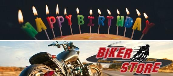 Der biker Store feiert seinen ersten Geburtstag und lockt mit reichlich Programm!