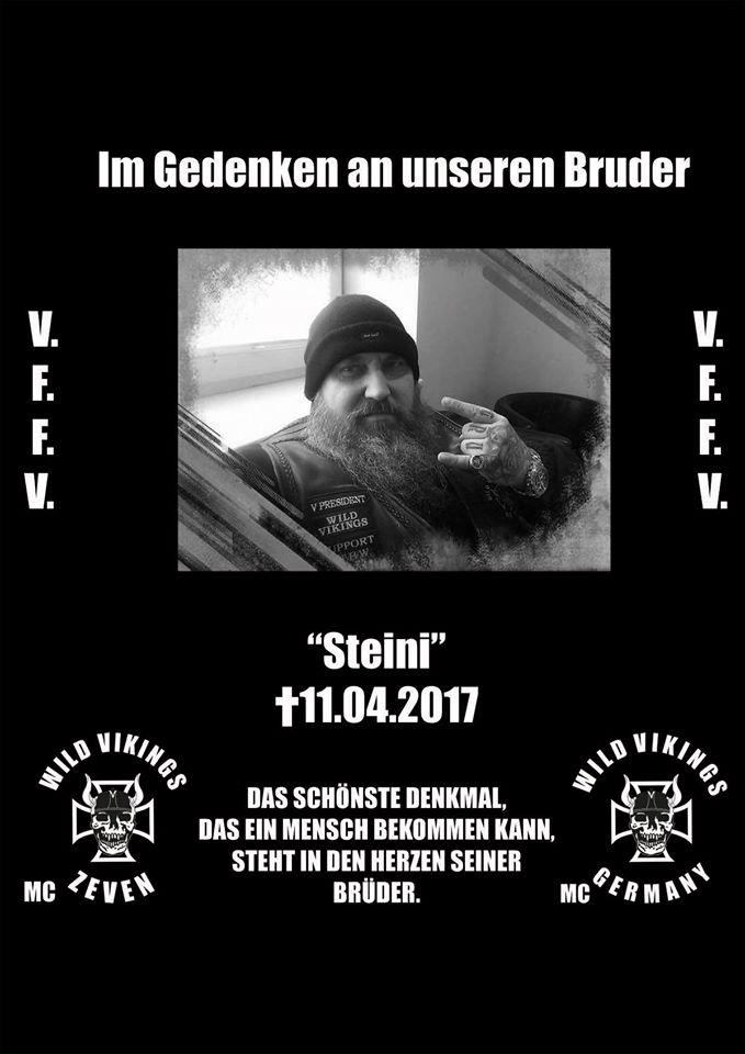 Wild Vikings Mc Berlin Der Letzte Gang Von Steini Bikes Music