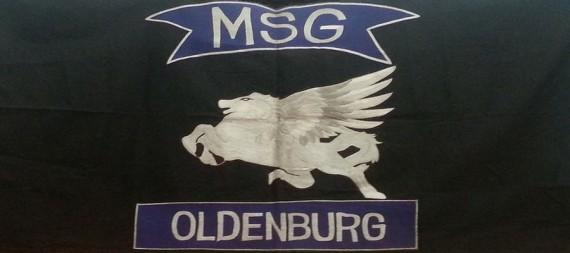 Die Farben des MSG Oldenburg e.V.!