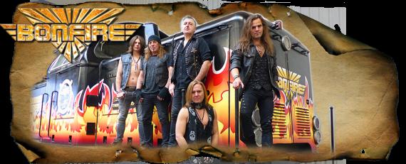 Bonfire gehören zu den erfolgreichsten Melodic-Hardrock-Acts aus Deutschland.