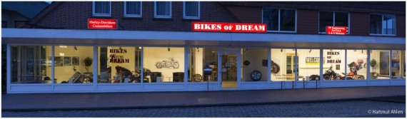 BIKES OF DREAM ist in Westerstede/Ocholt ansässig.