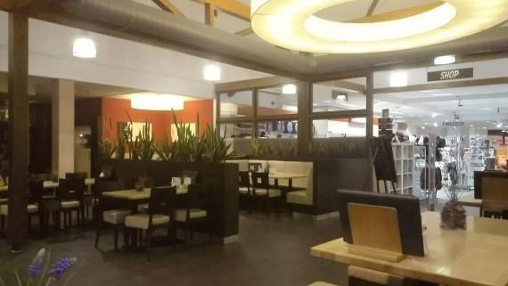 Das Interieur wirkt modern und zeitgemäß. Und es war sauber.