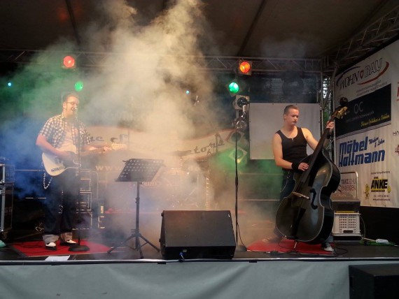 The Sound Doctors zelebrieren frischen, klassichen Rockabilly.