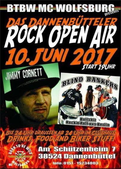 Der BTBW MC Wolfsburg lädt zum Rock Open Air!