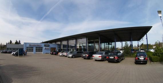 Das Autohaus Mock in Delmenhorst stellte mir eine V-Klasse Avantgarde zur Verfügung!