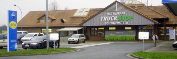 Auf meiner Heimreise nach Bremen checkte ich im Autohof in Schwarmstedt ein.