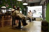 Samans Barber Shop bietet ein authentisches Ambiente!